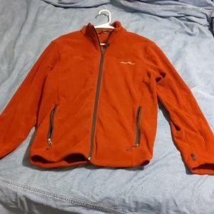 Eddie Bauer Fleece zip up jacket